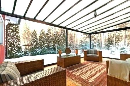 Image result for cover balcony with glass